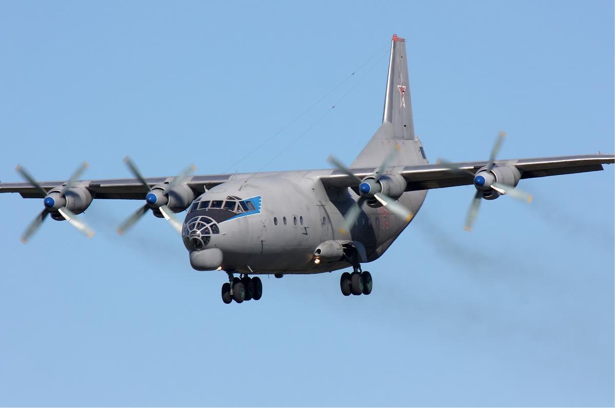 Antonov An-12 Cub transport aircraft (Russia)