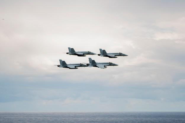 Truman Carrier Strike Group Enters U.S. 5th Fleet To Begin Anti-ISIS Operations