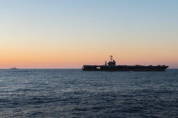 Carrier USS John C. Stennis Leaves Kitsap-Bremerton for Great Green Fleet Deployment