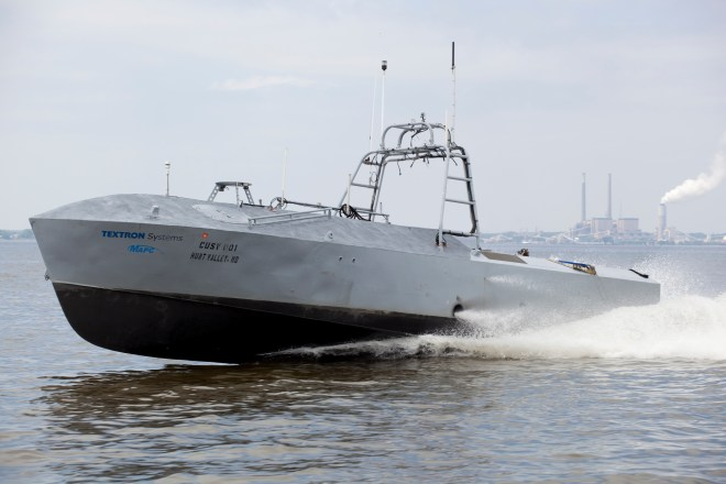 Textron's CUSV In Production As Minesweeping Vehicle, May Take On Minehunting Soon