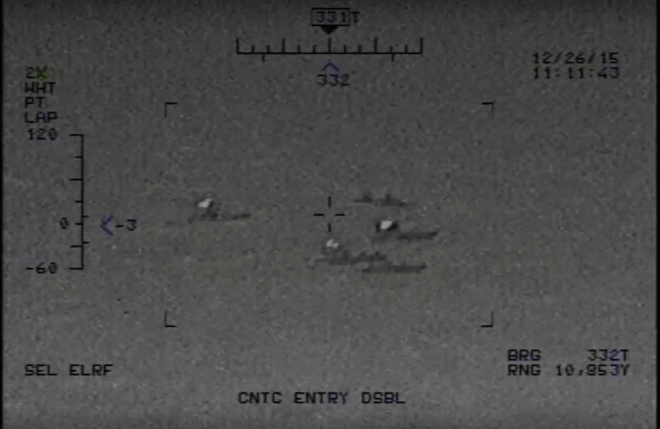 Video: Iranian Patrol Boats Fire Rockets Near U.S. Carrier