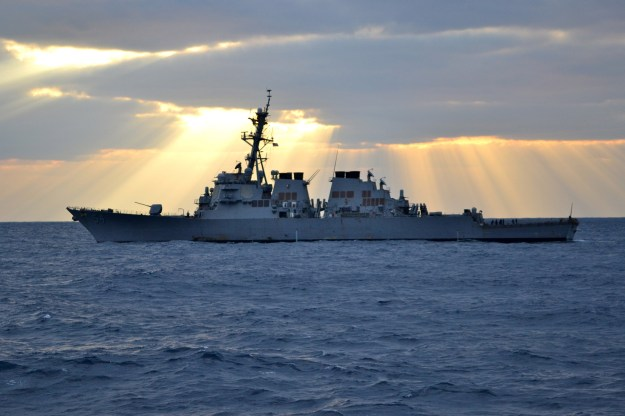 USS Curtis Wilbur (DDG-54) in 2012. US Navy Photo