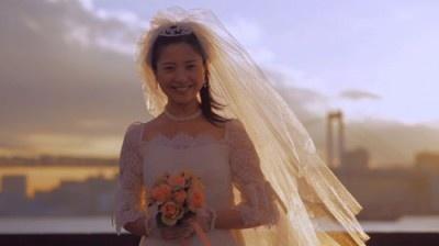 「吉高由里子 ウエディングドレス」の画像検索結果