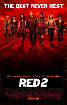Red 2 Movie Review : 2 out of 5 Stars