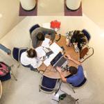 Students in Lybyer Technology Center