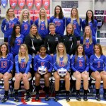 THE 2016 MISSOURI STATE University-West Plains Grizzly Volleyball team will open its home season at 6:30 p.m. Friday, Sept. 9, against Iowa Western Community College, Council Bluffs, in the West Plains Civic Center arena following the annual Grizzly Booster Club Fall Picnic, which begins at 5 p.m. in the civic center exhibit hall. Admission to both events is free. Grizzly team members include, front row from left, Kinli Simmons, Mikhala McCullough, Adriana Darthuy, Kaitlyn Raith, Autumn Reese and Maja Petronijevic. Second row: Blanca Izquierdo, Strength and Conditioning Coach Keri Elrod, Head Coach Paula Wiedemann, Assistant Coach Briana Walsh and Elliotte Bourne. Back row: Catja Weijzen, Rachel Holthaus, Johonna Walkup, Muara Kroon, Stephanie Phillips and Greer Rogers. (Missouri State-West Plains Photo)