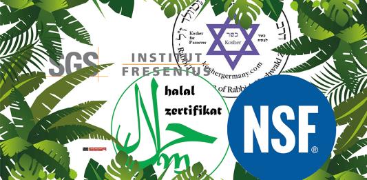 Lebensmittelindustrie Zertifikat-Dschungel