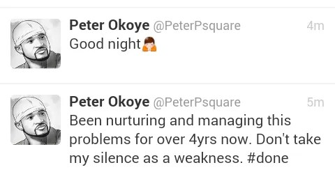 Publicity Stunt?: Psquare VS Management In Twitter Rant