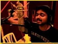 Vijay to sing