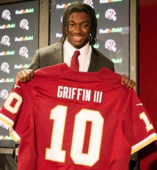 Ready to go: Robert Griffin III, better known as RGIII, will be taking his talents to the Washington Redskins. Photo Credit: Paul Frederiksen-US PRESSWIRE/NFL.com