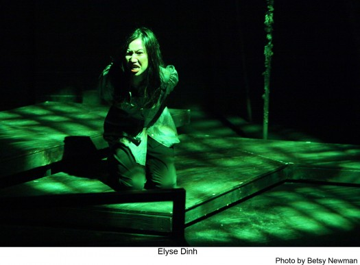 """Actress Elyse Dinh gives a strong performance in """"Year of the Rabbit,"""" now playing at the Atwater Theatre in Los Angeles."""