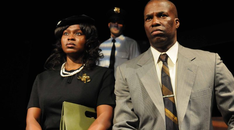 "Yetide Badki (l.), Christoff Lombard and Rodger Bridges are part of a stellar cast in the stage play, ""The Good Negro."" Photo Credit: Ian Foxx"