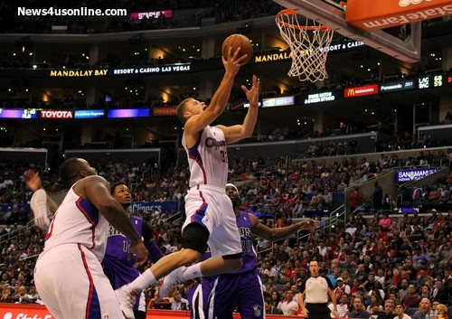 Blake Griffin and the Los Angeles Clippers topped the Sacramento Kings, 117101, at STAPLES Center. Photo Credit: Dennis J. Freeman/News4usonline.com