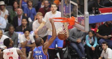 OKC bring down the thunder on Warriors