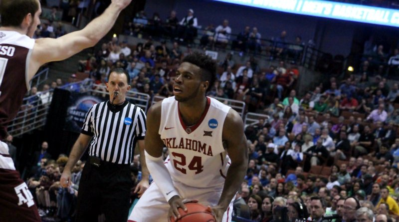 Buddy Hield scores 17 points and grabs 10 rebounds in the Sooners' 77-63 win against Texas A&M. Photo by Dennis J. Freeman/News4usonline.com
