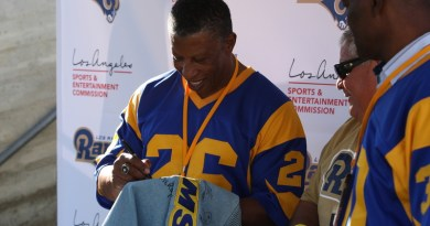 Rams All-Access event an LA affair