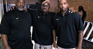 The Drew League's line of defense