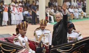 Pranab Mukherjee starts new innings as President