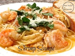 Shrimp Scampi on NewsAnchorToHomemaker