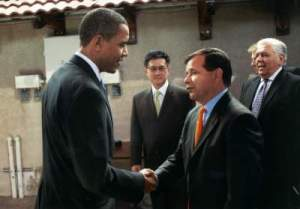 Miguel-Pulido-and-President-Barack-Obama