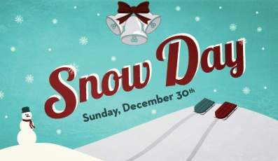 Calvary Church Snow Day