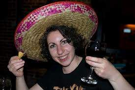 Hipster in a sombrero