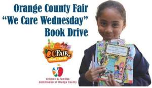 OC Fair Book Drive