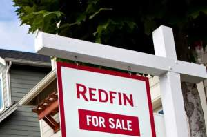 Redfin yard sign