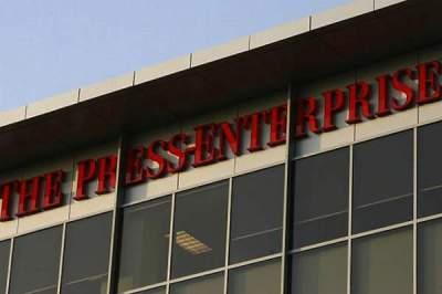 The Riverside Press Enterprise building