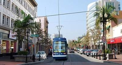 Simulation of Santa Ana streetcar