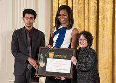 Michelle Obama honors the Santa Ana Library