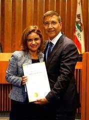 Vince Sarmiento and Maria Huizar