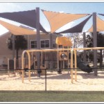 Big Pine Community Park's is now shaded