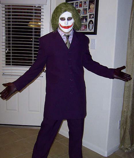 Halloween costume joker