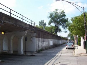Bloomingdale Trail from the ground