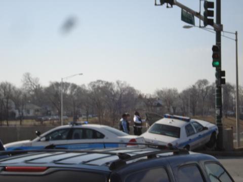 Cop car pole