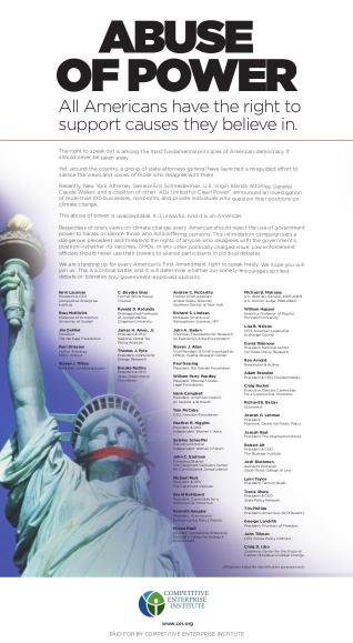 abuse-of-power-full-page-nyt-climate-witch-hunt-ad