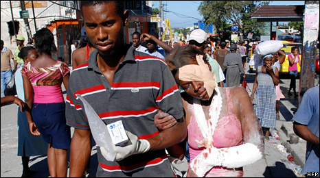 47105182 liveafp3 American Doctors Volunteer to Help Haiti Earthquake Victims Photo