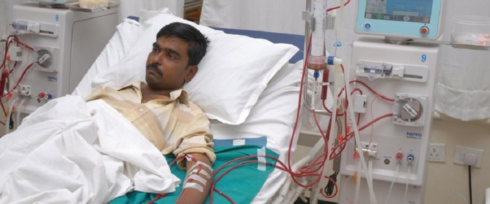 Death due to kidney disease in Pakistan is highest in South Asia