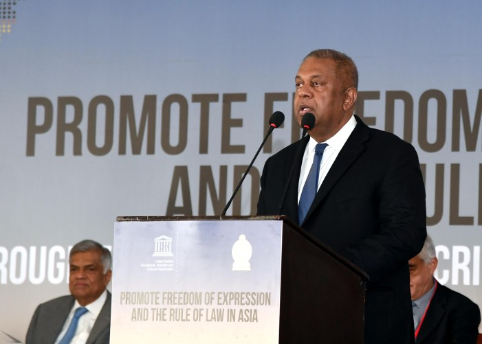 Sri Lanka vows to end impunity on crimes against journalists