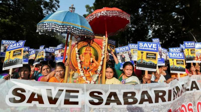 Ayyappa temple entry imbroglio: Conservative backlash stems from vote bank politics