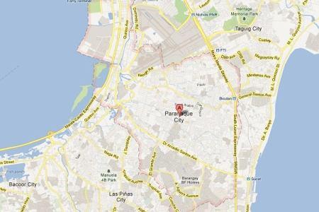 paranaque city map images