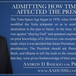 "Former US chrononaut Andrew D. Basiago, time-travel pre-identified U.S. President, releases ""100 Proposals – A New Agenda for A New America"" in Truth, Reform, and Innovation – Proposes Global Teleportation System"