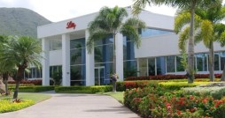 Eli Lilly&#039;s plant in Guayama.