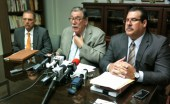From left: Attorneys Harold Vicente, Jos Andru-Garca and Jos Andru-Fuentes