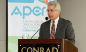 Julin Herencia, executive director of APER.