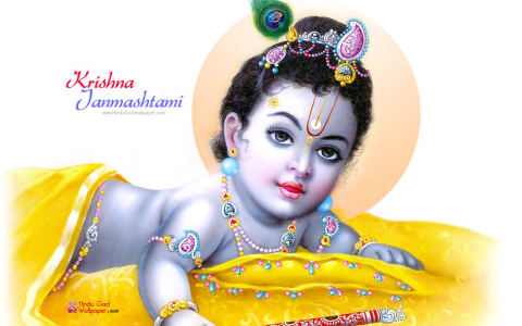 Krishna Janmashtami facebook cover photos