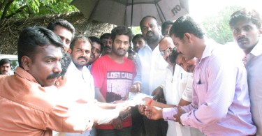NTR Fans donation