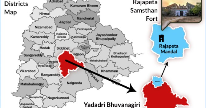 Telangana New Districts