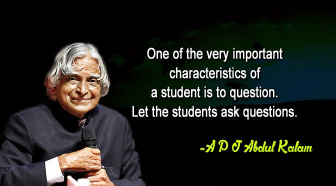 APJ Abdul Kalam Quotes National Students Day5